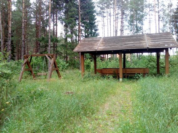 Apleistas miško parkas šalia Antavilių
