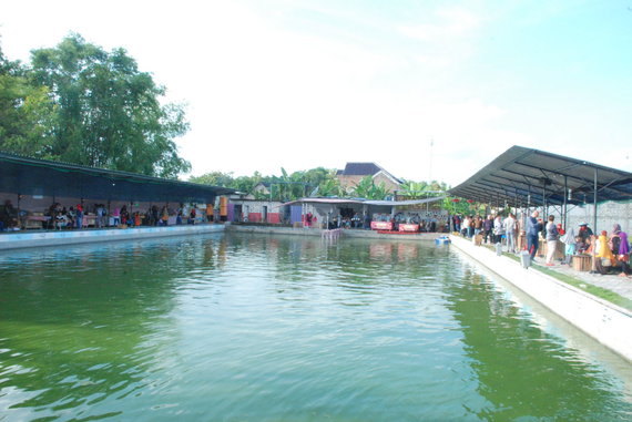 Kaimas Javos saloje, Indonezijoje