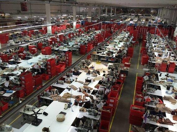 Sofa Brands gamykla