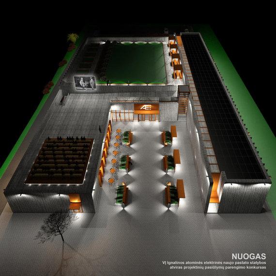 """Atominės elektrinės naujo pastato """"Nuogas"""" projektinis pasiūlymas"""