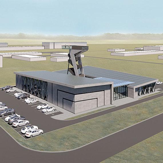 """Atominės elektrinės naujo pastato """"Atominės panoramos"""" projektinis pasiūlymas"""