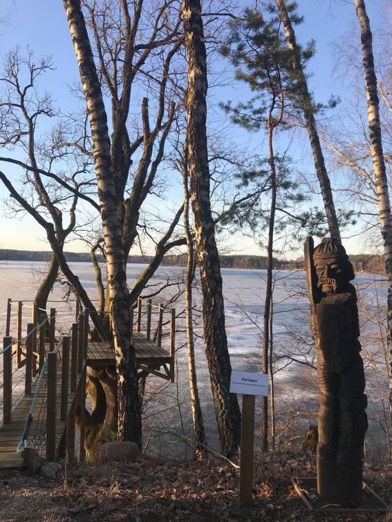 Kaimo turizmo sodyba įsikūrusi ant ežero kranto