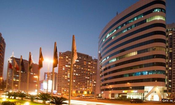 Verslo centras Dubajuje, kur Taupomoji kasa turėjo kontorą