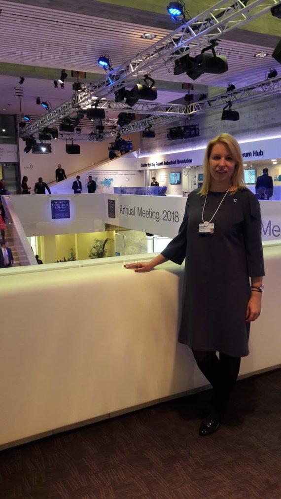 Žydrūnė Vitaitė Davose