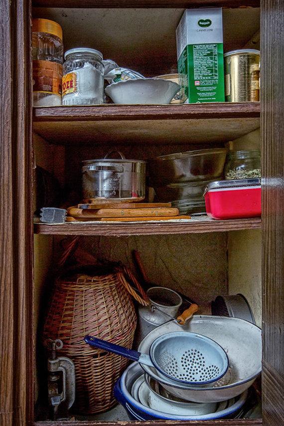 Asmeninio archyvo nuotr./Lazdynuose nuo pat įsikūrimo tebegyvenančio žmogaus buitis