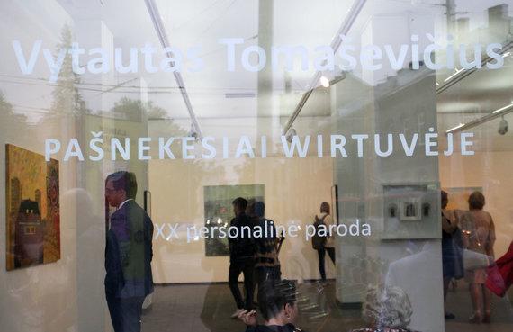 Asmeninio archyvo nuotr./5 Pamėnkalnio galerijoje veikia XX personalinė Vytauto Tomaševičiaus paroda
