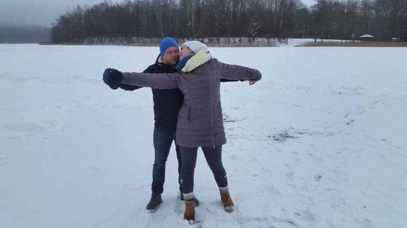 Asmeninio archyvo nuotr./Angelė ir Gytis