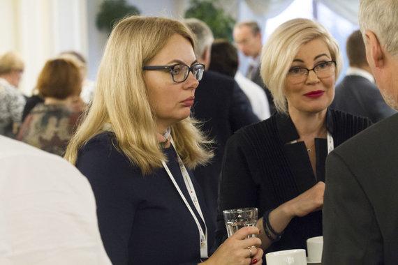 Rūtos Andrės nuotr./Kristina Garuolienė ir Jelena Čelutkienė