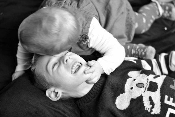 Audronės Jankės nuotr./Hubertas su sese