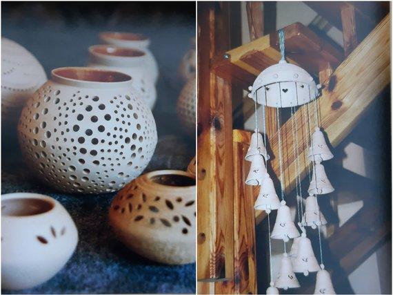 Asmeninio albumo nuotr./Plotnikovų keramikos darbai