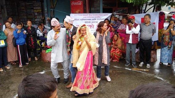 Asmeninio albumo nuotr./Nepale