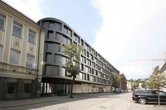 """Bendrovės vizualizacija /Kaune statomas """"Moxy"""" viešbutis"""