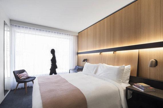 Adrien Williams nuotr./Rafinuotas viešbutis Monrealyje