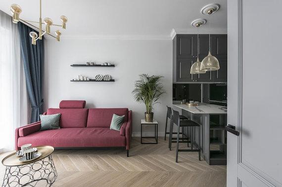 Leono Garbačausko nuotr./Elegantiškas atostogų butas