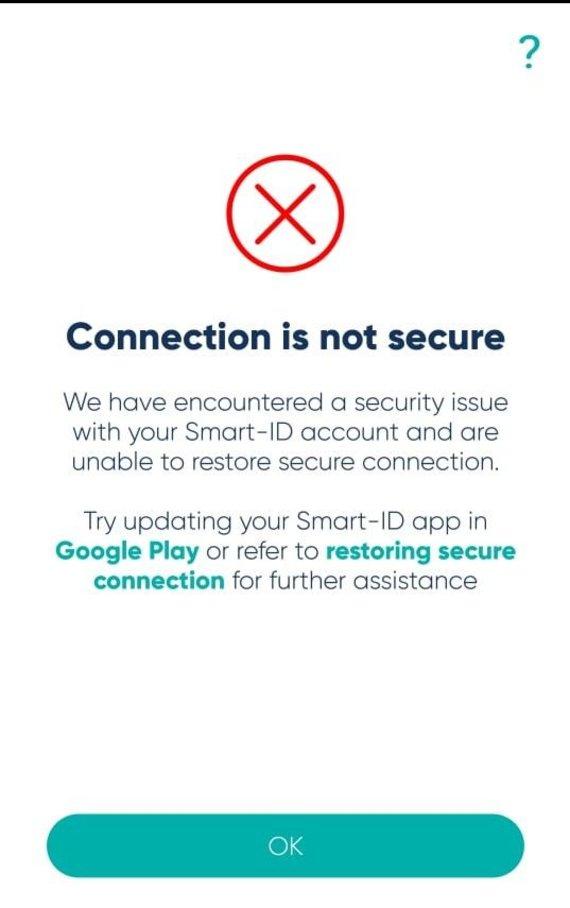"Sutriko ""Smart ID"" veikla"