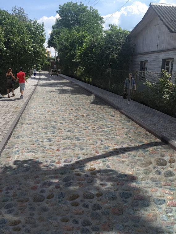 Sauliaus Žiūros nuotr./Daugeliškio gatvė