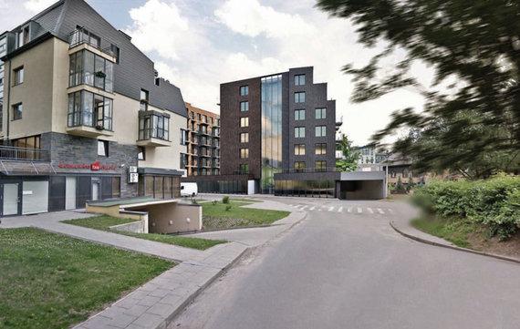 """""""Vilniaus architektūros studija""""/""""Rewo"""" planuojamas rajonas Paribio gatvėje"""