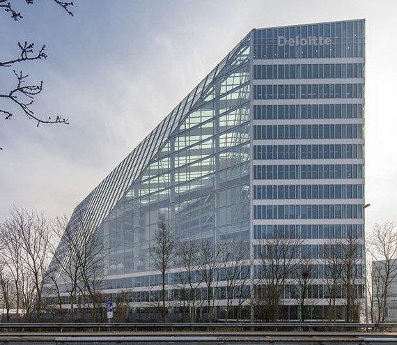 """plparchitecture.com nuotr./Moderniausias pasaulio pastatas """"The Edge"""""""