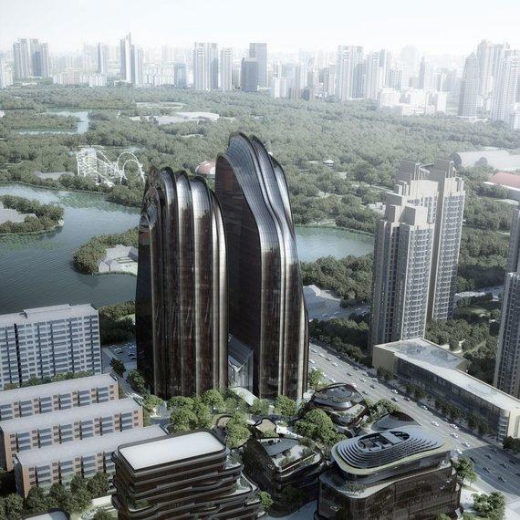 """MAD""/""Chaoyang Park Plaza"" pastatas Beijinge"