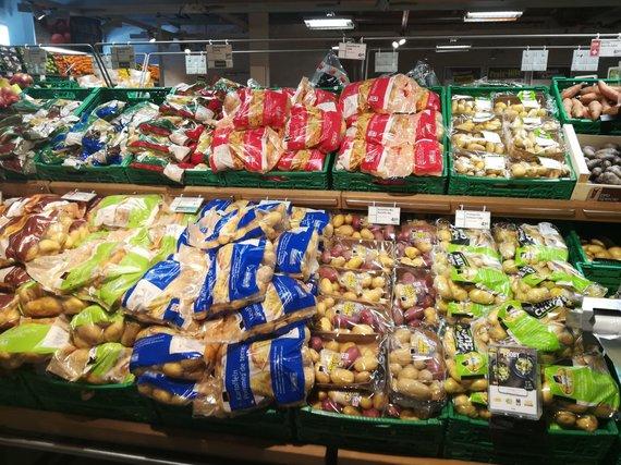 Viktorijos Karsokaitės / 15min nuotr./Maisto kainos Ciuriche