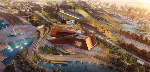 """""""UNStudio"""" vizualizacija/""""UNStudio"""" Paryžiuje laimėjo architektūros konkursą"""