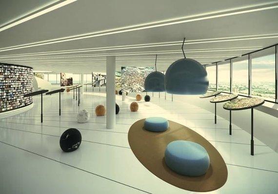 """Architektūros studija """"Plazma""""/Planuojama rekonstruoti Televizijos bokštą"""