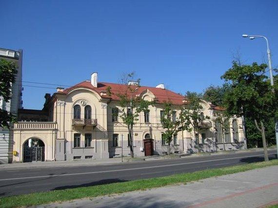 Turto bankas/Buvusi Raudonojo kryžiaus ligoninė Vilniuje Žygimantų g.
