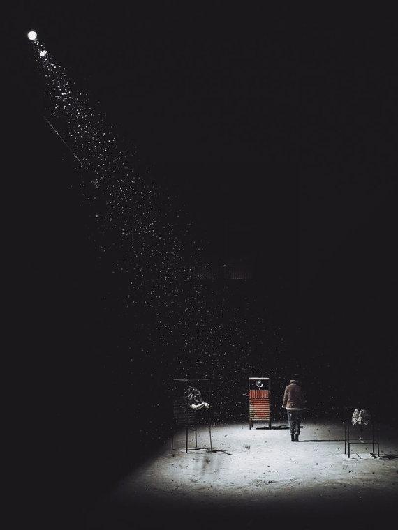 """Wes.MW nuotr./""""Huawei"""" fotografijos konkurso geriausias darbas kategorijoje """"Good Night"""""""