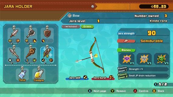 R.Jaščemsko iliustr./Kiekvienas ginklas turi skirtingų galių, tad renkantis tenka nemažai skaityti ir lyginti, kaip ir įprasta RPG žaidimuose.