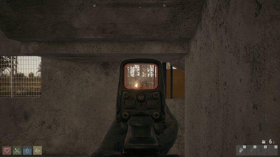 M.Klimo iliustr./Ir taip su penkiais šoviniais pistoletui aš išvaliau visą banditų bazę naudodamas va tokią taktiką