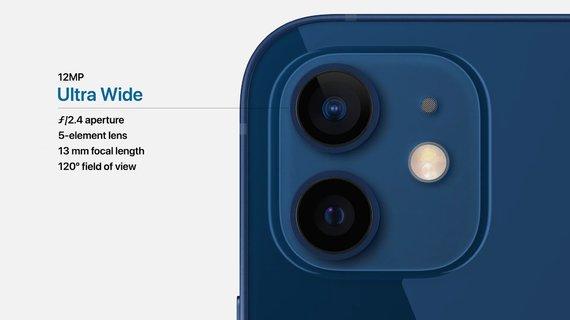 """iPhone 12"" kamera"