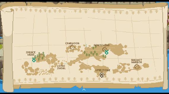 K.Pečiulevičiaus iliustr./Žemėlapis kiek primityvokas, bet norėdami kelią visuomet surasime