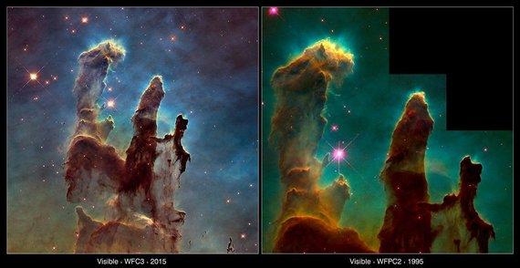 NASA nuotr./Objektas tas pats, versijos skirtingos