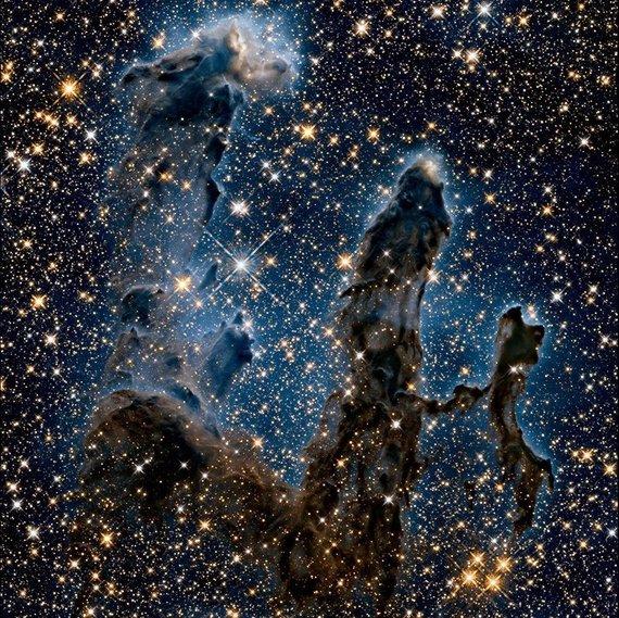 NASA nuotr./Erelio ūko nuotrauka infraraudonojoje šviesoje