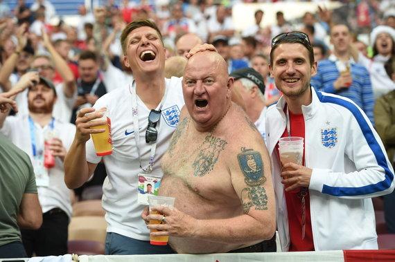 """""""Scanpix"""" nuotr./Anglijos rinktinė pralaimėjo pasaulio čempionato pusfinalį Kroatijai."""