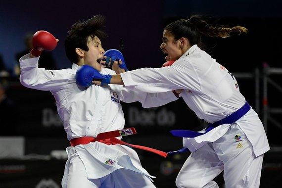 """AFP/""""Scanpix"""" nuotr./Madride vyko olimpinio karatė pasaulio čempionatas"""