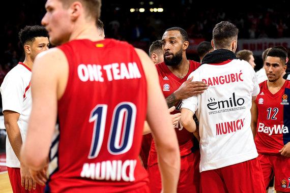 "Getty Images/Euroleague.net nuotr./Eurolygos mače Miunchene ""Bayern"" palaužė Kauno ""Žalgirį"" 88:84."
