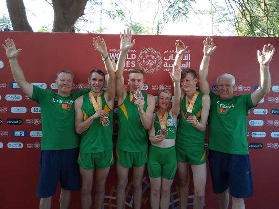 Organizatorių nuotr./Specialiosiose žaidynėse lietuviai laimėjo 28 medalius, iš jų 16 aukso.