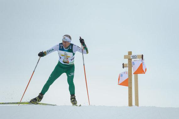 Donato Lazausko nuotr./Lietuvos orientacininkai pasaulio čempionate Švedijoje.
