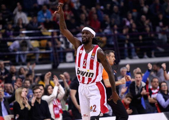 """Getty Images/Euroleague.net nuotr./Mačas Graikijoje: Pirėjo """"Olympiakos"""" – Kauno """"Žalgiris""""."""