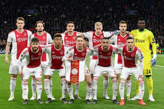 """Reuters""/""Scanpix"" nuotr./Amsterdamo ""Ajax""."
