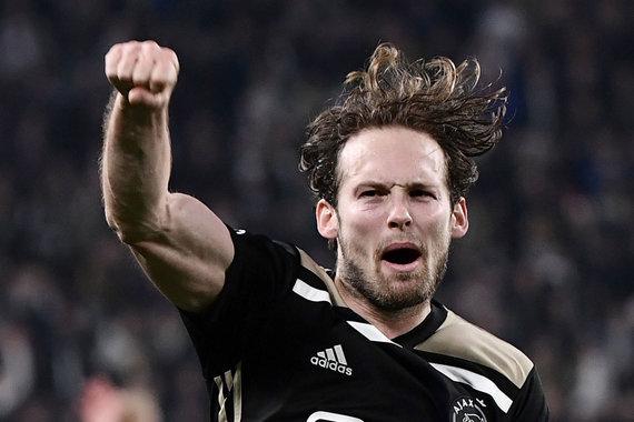 """""""Scanpix"""" nuotr./Amsterdamo """"Ajax"""" pateko į Čempionų lygos pusfinalį."""