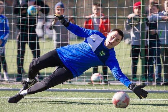 Sauliaus Čirbos nuotr./Startavo Vilniaus futbolo sezonas.