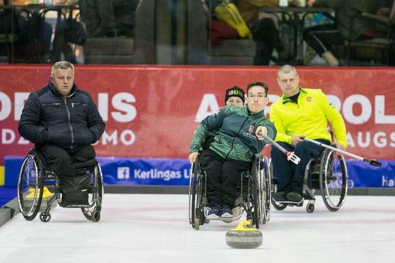 Sauliaus Čirbos nuotr./Vilniuje vyko Lietuvos kerlingo čempionatas.
