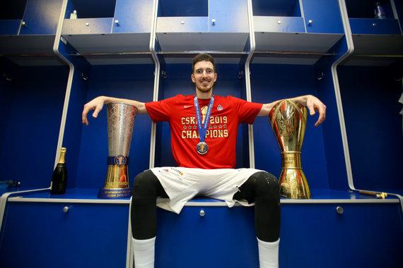 """""""Scanpix""""/ITAR-TASS nuotr./Nando de Colo sutartis su CSKA baigėsi."""