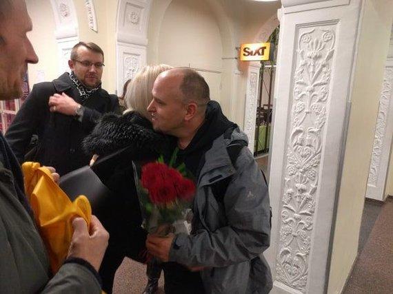 Kęsto Rimkaus nuotr./Darius Labanauskas grįžo iš pasaulio smiginio čempionato, kuriame pasiekė istorinę žymę – ketvirtfinalį.