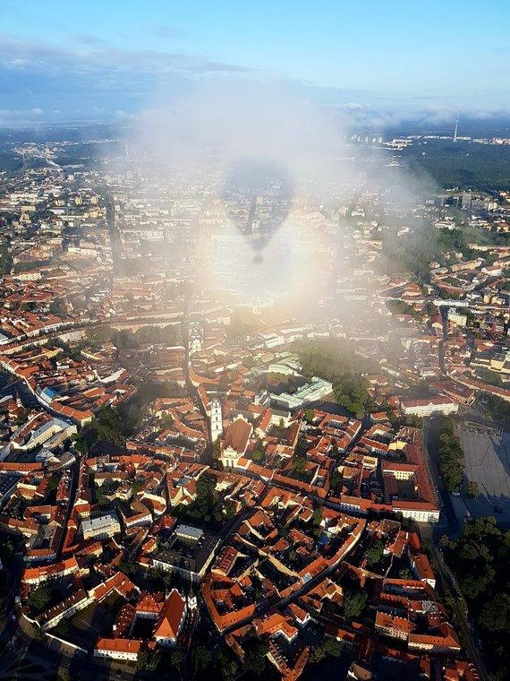 Asmeninio albumo nuotr./Oreiviai privalo skrydį suplanuoti taip, kad išskristų iš miesto.