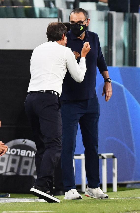 """""""Scanpix"""" nuotr./Turino """"Juventus"""" žygį Čempionų lygoje sustabdė Liono """"Olympique""""."""