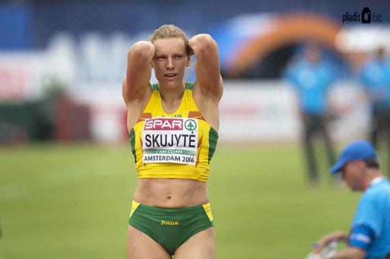 Alfredo Pliadžio nuotr. /Austra Skujytė baigė savo įspūdingą sportinę karjerą