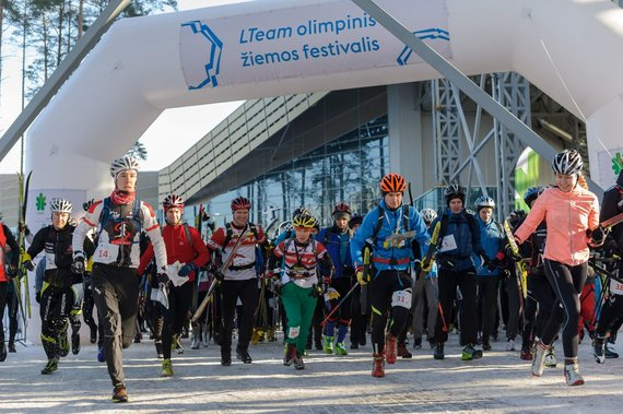 Organizatorių nuotr./Multisporto varžybose susilieja kelios arba net keliolika sporto rungčių.